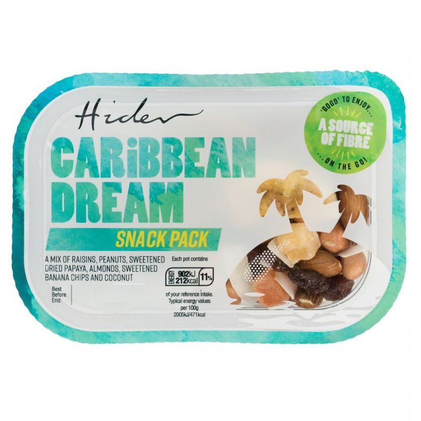 Caribbean Dream - Fruit & Nuts Protein Snack Pack Hider Foods 45g